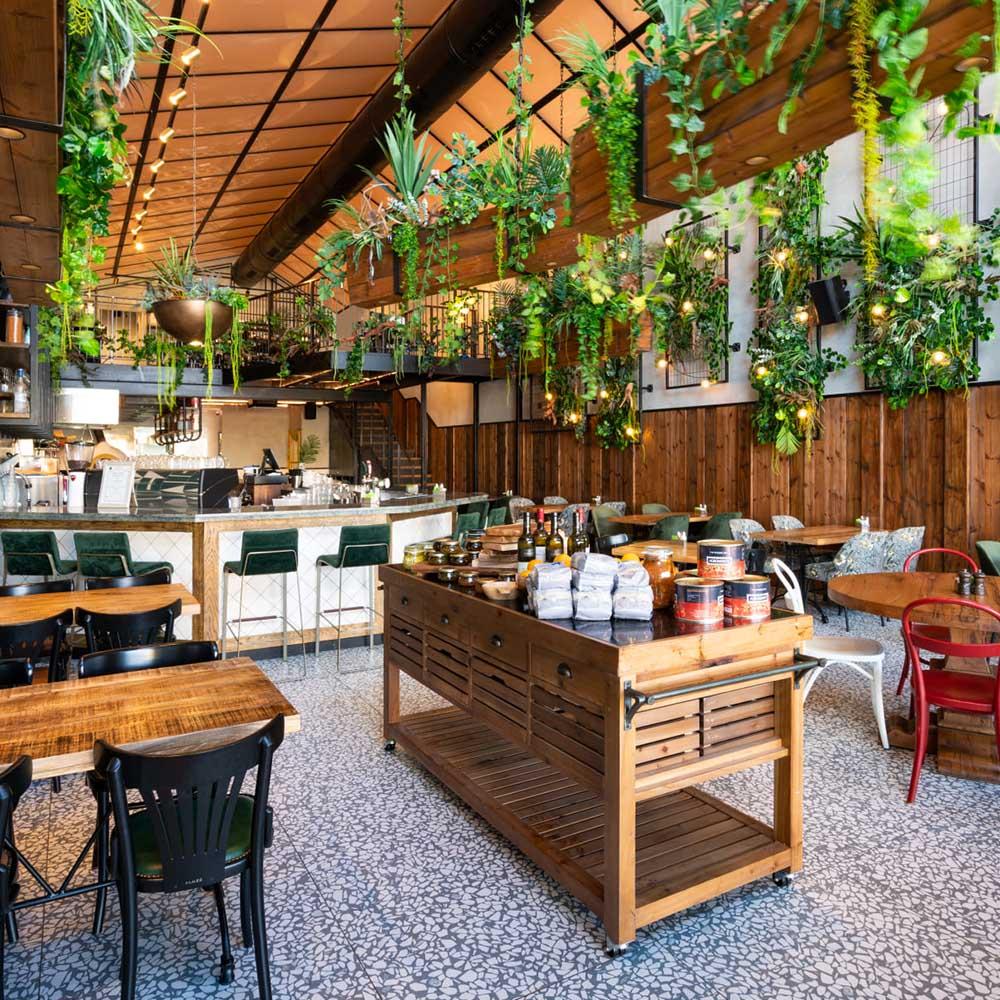 פרש דה מרקט סניף קריות תמונת המסעדה מבפנים